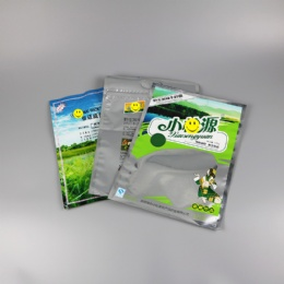 plastic packaging bag for food