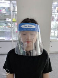 Anti-FogPET Face shield with CE/FDA certification